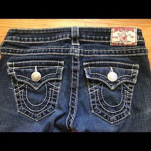 True Religion Joey Big T Dark Wash Jeans Size 26